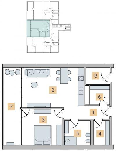 S2 stanovanje